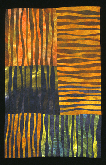 Fancy Free - Art Quilt - by Janet Steadman
