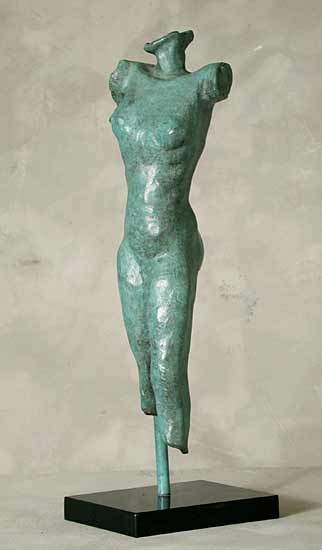 Standing Study - Bronze Sculpture - by Gerald Siciliano