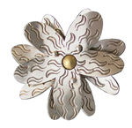 Silver Brooch by Thomas Mann