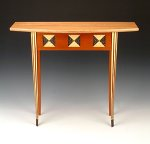 Wood Hall Table by Douglas W. Jones