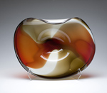 Art Glass Vessel by Janet Nicholson