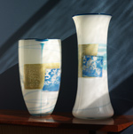 Art Glass Vases by Richard S. Jones