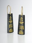 Silver & Gold Earrings by Lisa Ceccorulli