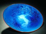Art Glass Platter by Josh Simpson