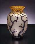 Art Glass Vessel by Bernard Katz