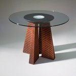 Wood Dining Table by David Kiernan