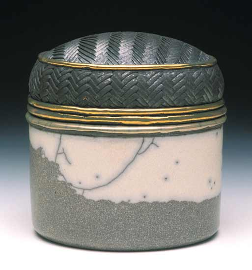 Oval Box - Ceramic Box - by Candone Wharton