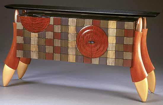 Patched Buffet - Wood Buffet Table - by Brent Skidmore