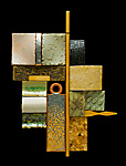 Ceramic, Wood & Metal Wall Art by W. Mitch Yung