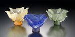 Small Art Glass Bowl by Eloise Cotton