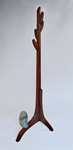 Wood Coat Rack by Richard Laufer