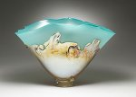 Art Glass Vessel by Dierk Van Keppel