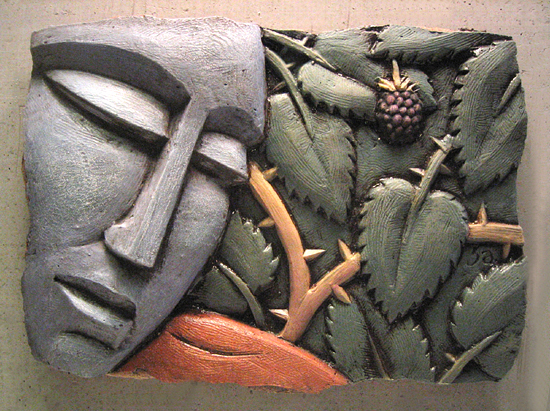 Fig 3a - Ceramic Wall Art - by Steve Gardner