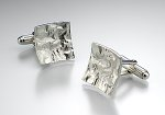 Silver Cufflinks by Thea Izzi