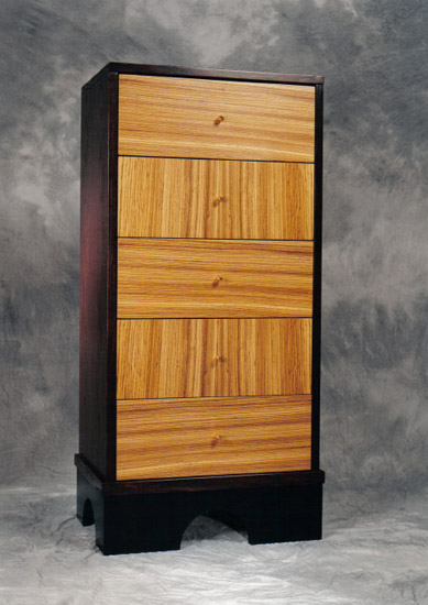 Tower Chest - Wood Chest - by Nicholas Simile
