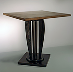 Wood End Table by Nicholas Simile