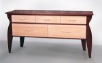 Wood Credenza by Nicholas Simile