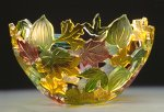 Art Glass Bowl by Ann Alderson Biba