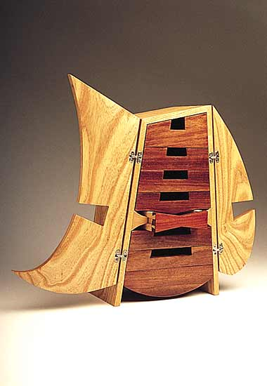 Bowtie Box - Wood Cabinet - by Seth Rolland