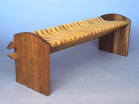 Bench - Wooden Bench - by Seth Rolland