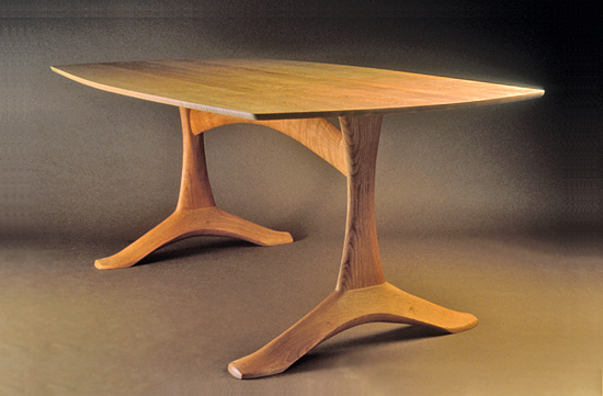 Arch Dining Table - Wood Dining Table - by Dean Pulver