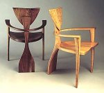Wooden Chair by Seth Rolland