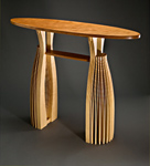 Wood Hall Table by Seth Rolland