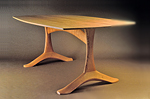 Wood Dining Table by Dean Pulver