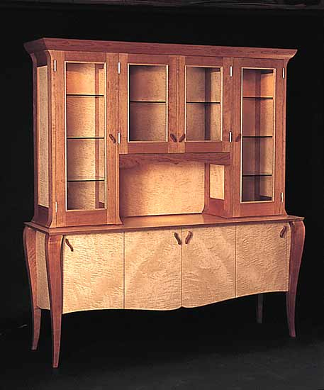 Gazelle Breakfront - Wood Hutch - by Gregg Lipton