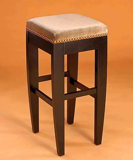 Tusk Stool Without Back - Wood Stool - by Gregg Lipton