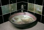 Ceramic Sink by Suzanne Crane