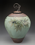 Ceramic Urn by Suzanne Crane
