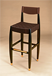Wood Bar Stool by Gregg Lipton