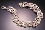 Sterling Silver Bracelet by Dona Look
