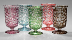 Art Glass Goblets by Mary Mullaney