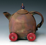 Ceramic Teapot by Ron Mello