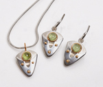 Silver, Gold, & Stone Set by Linda Smith