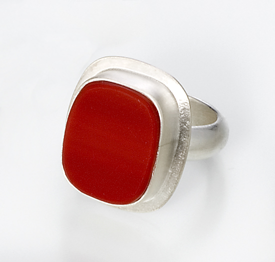 Lorelei Ring - Silver Ring - by Amy Faust