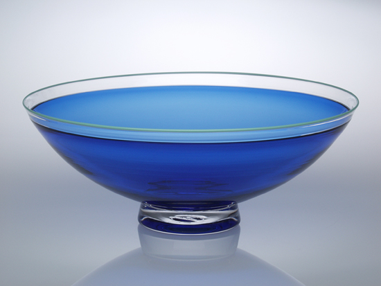 Half Round Bowl - Glass Bowl - by Nicholas Kekic