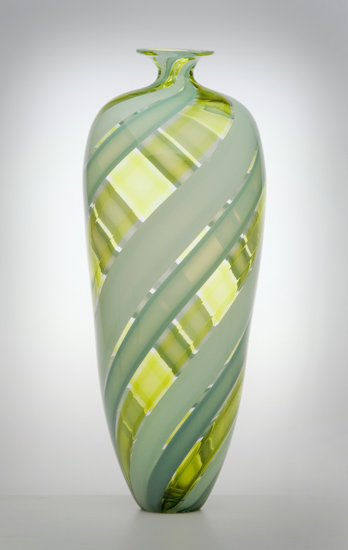 Tessera Bottle - Art Glass Bottle - by Nicholas Kekic