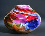 Art Glass Vessel by Randi Solin