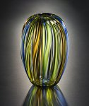 Art Glass Vase by Tracy Glover