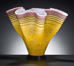 Art Glass Vessel by Curt Brock