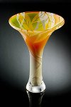 Art Glass Vase by Laurie Thal