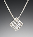 Silver Necklace by Marie Scarpa