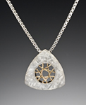 Gold & Silver Necklace by Marie Scarpa