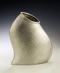 Pewter Vase by Lisa Slovis