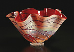 Art Glass Vessel by Cristy Aloysi