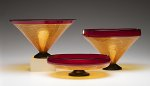 Art Glass Bowls by Kenny Pieper