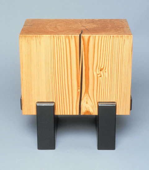 Rectangled for Square - Wood Side Table - by Brad Reed Nelson